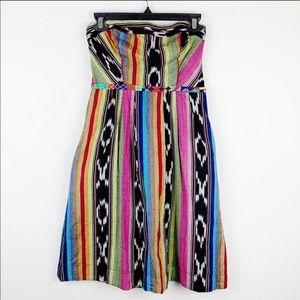 Anthro Edme & Esyllte Pueblo Boho Ikat Dress B319